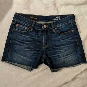 J.Crew indigo denim shorts size 25